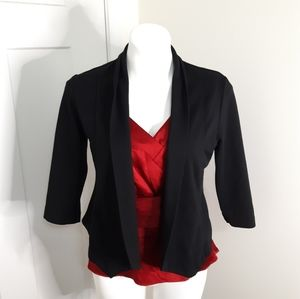 Mossimo Size Medium Black Shrug